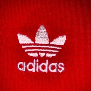 adidas Sweaters - Adidas original red sweatshirt